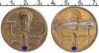 Изображение Значки, ордена, медали Третий Рейх Значок 1934 Бронза XF Знак День труда