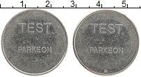 Изображение Монеты Европа Жетон 0 Медно-никель XF Парковка