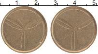 Изображение Монеты Европа Жетон 0 Латунь XF Для автоматов