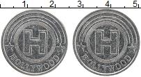 Изображение Монеты США Жетон 0 Медно-никель XF Голливуд