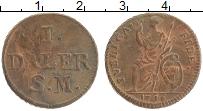 Изображение Монеты Швеция 1 далер 1716 Медь XF