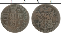Изображение Монеты Льеж 1 лиард 1745 Медь VF+