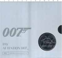 Изображение Подарочные монеты Великобритания 5 фунтов 2020 Медно-никель BUNC Вторая монета из сер