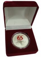 Изображение Подарочные монеты Россия Медаль 2010 Серебро Proof- Памятная медаль в че