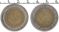 Изображение Монеты Ливия 1/2 динара 2009 Биметалл XF