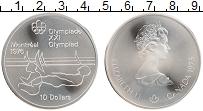 Изображение Монеты Канада 10 долларов 1975 Серебро UNC Елизавета II. XXI Ле