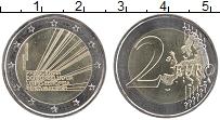 Изображение Мелочь Португалия 2 евро 2021 Биметалл UNC Председательство в С