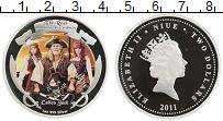 Изображение Монеты Ниуэ 2 доллара 2011 Серебро Proof Пираты Карибского мо