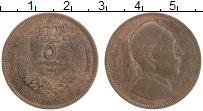 Изображение Монеты Ливия 5 миллим 1952 Бронза XF Идрис I