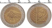 Продать Монеты Словакия 2 евро 2009 Биметалл