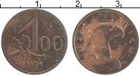 Изображение Монеты Австрия 100 крон 1924 Бронза XF