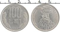 Изображение Монеты Румыния 100 лей 1993 Медно-никель XF