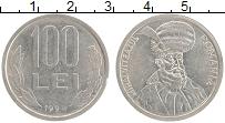 Изображение Монеты Румыния 100 лей 1994 Медно-никель XF