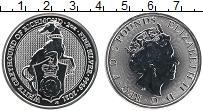 Изображение Монеты Великобритания 5 фунтов 2021 Серебро UNC Борзая Ричмонда