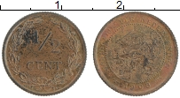 Изображение Монеты Нидерланды 1/2 цента 1903 Бронза XF+
