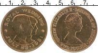 Изображение Монеты Остров Джерси 2 фунта 1981 Медно-никель UNC- Свадьба принца Уэльс