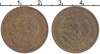 Изображение Монеты Мексика 10 сентаво 1959 Бронза XF Бенито Хуарес