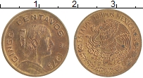 Изображение Монеты Мексика 5 сентаво 1975 Бронза XF+ Хосефа Ортис де Доми