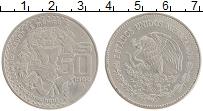 Изображение Монеты Мексика 50 песо 1982 Медно-никель XF