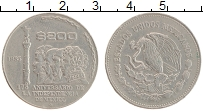 Изображение Монеты Мексика 200 песо 1985 Медно-никель XF 175 лет Независимост