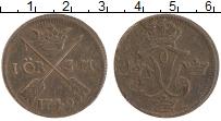 Изображение Монеты Швеция 1 эре 1749 Медь XF- Фредрик I