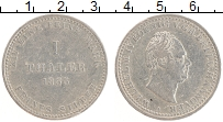 Изображение Монеты Ганновер 1 талер 1835 Серебро XF Вильгельм IV