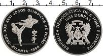 Изображение Монеты Сан-Томе и Принсипи 1000 добрас 1996 Медно-никель Proof- XXVI Летние олимпийс
