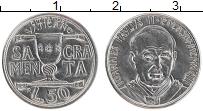 Изображение Монеты Ватикан 50 лир 1993 Сталь UNC Иоанн Павел II