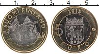 Изображение Монеты Финляндия 5 евро 2015 Биметалл UNC Исторические провинц