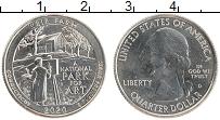 Изображение Монеты США 1/4 доллара 2020 Медно-никель UNC D. Национальный парк