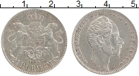 Изображение Монеты Швеция 1 ригсдалер 1857 Серебро XF+ Оскар (Год/тип)