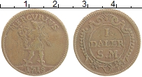 Изображение Монеты Швеция 1 далер 1718 Медь XF- Меркурий