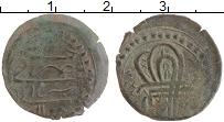 Изображение Монеты Турция 1 Мангир 1099 Медь VF Сулейман II