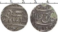 Изображение Монеты Индия 1 рупия 1810 Серебро XF Княжество Авад, шах