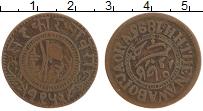Продать Монеты Джаора 1 пайс 1896 Медь