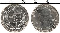 Изображение Мелочь США 1/4 доллара 2015 Медно-никель UNC D Хоумстед
