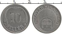 Изображение Монеты Венгрия 10 филлеров 1942 Железо XF