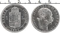 Изображение Монеты Венгрия 1 форинт 1880 Серебро XF Франс Иосиф I