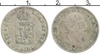 Изображение Монеты Ломбардия 1/4 лиры 1823 Серебро XF Франциск I