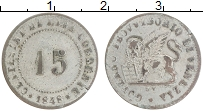 Изображение Монеты Венеция 15 чентезимо 1848 Серебро XF