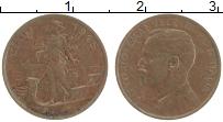 Изображение Монеты Италия 1 чентезимо 1915 Бронза UNC- Виктор Эммануил III