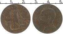 Изображение Монеты Италия 5 чентезимо 1909 Бронза XF Виктор Эммануил III