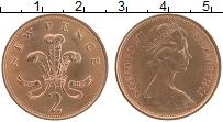 Изображение Монеты Великобритания 2 пенса 1971 Бронза UNC- Елизавета II