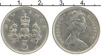 Изображение Монеты Великобритания 5 пенсов 1975 Медно-никель UNC- Елизавета II