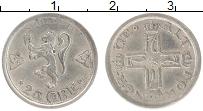 Изображение Монеты Норвегия 25 эре 1918 Серебро XF Хокон VII
