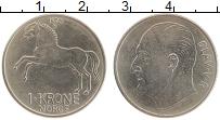 Изображение Монеты Норвегия 1 крона 1973 Медно-никель XF Олаф V