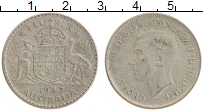 Изображение Монеты Австралия 1 флорин 1947 Серебро XF Георг VI