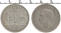 Изображение Монеты Австралия 1 флорин 1952 Серебро XF Георг VI