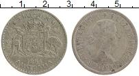 Изображение Монеты Австралия 1 флорин 1954 Серебро XF Елизавета II.