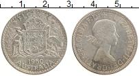 Изображение Монеты Австралия 1 флорин 1960 Серебро UNC- Елизавета II.